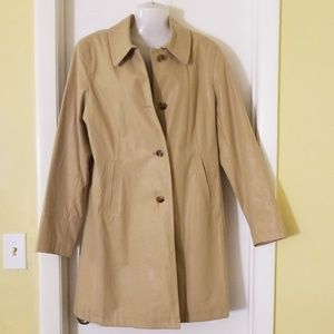 Giacca Trench coat L tan